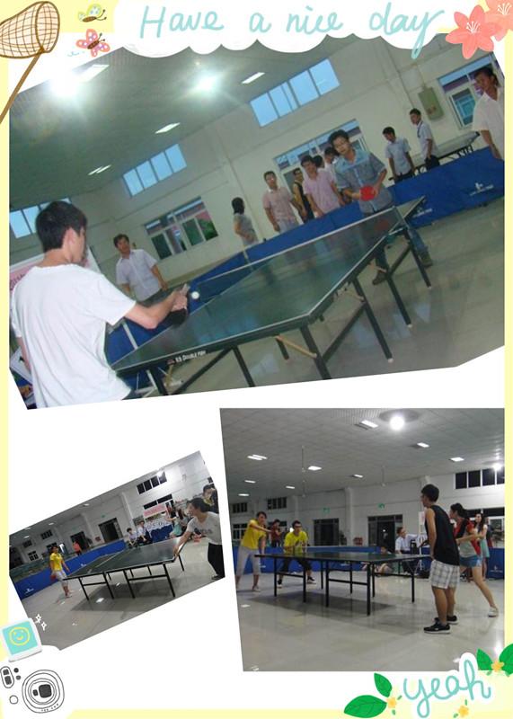 【炜林纳动态】2013年度炜林纳乒乓球比赛